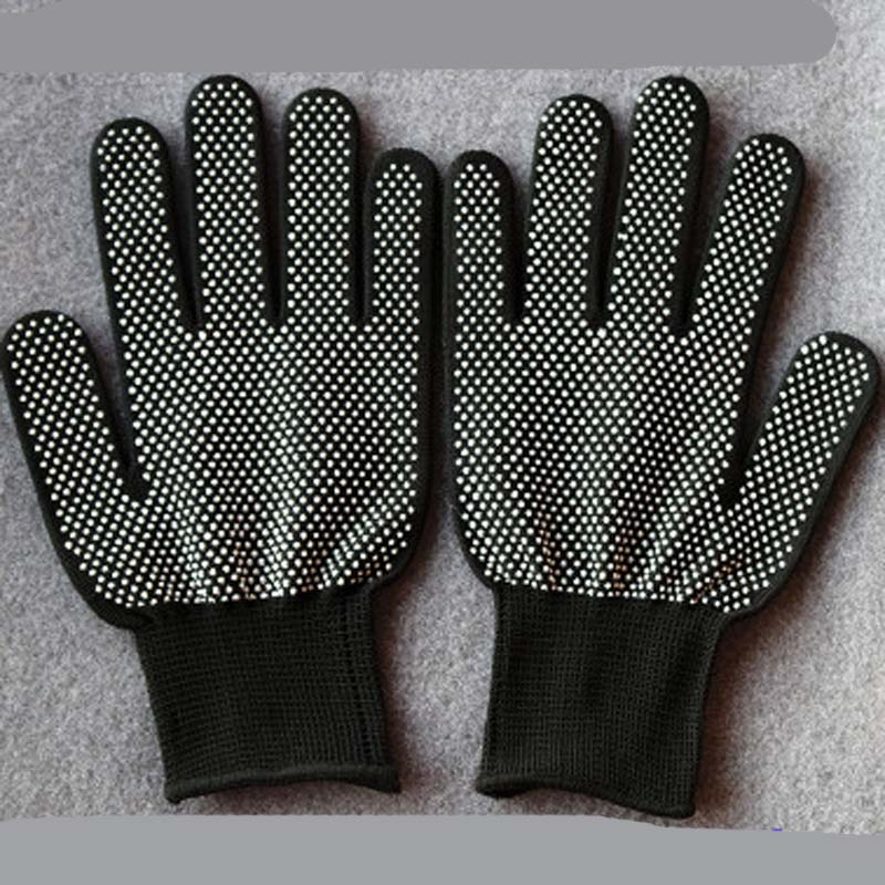 Nylon Point Plastic Labor Protection Protective Gloves Wear Non-slip Beaded Labor Insurance Gloves