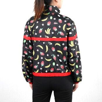 Original New Arrival  NIKE  W NSW JKT WVN AOP FRUIT  Women's  Jacket Hooded  Sportswear 2