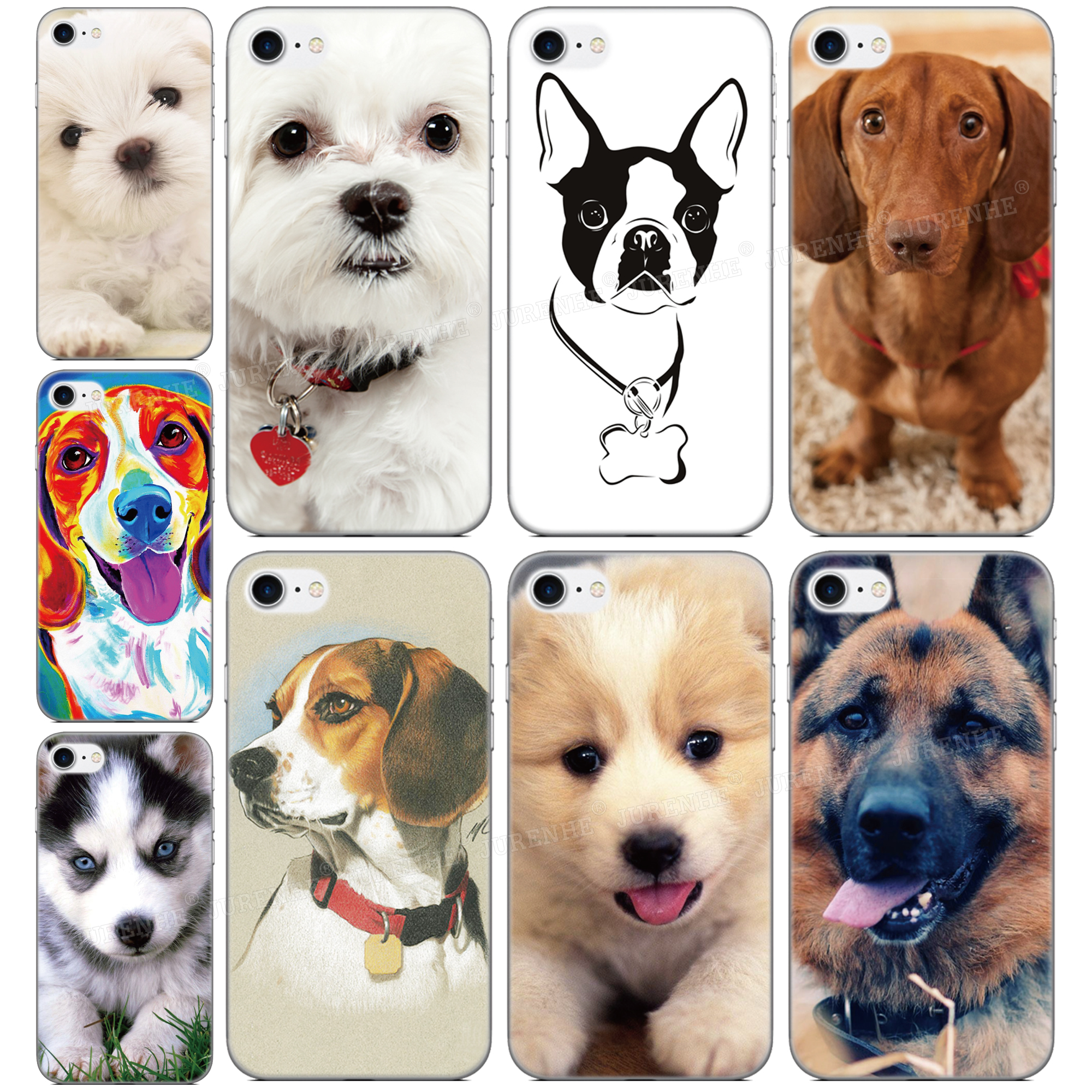 Soft Silicone Pet dog <font><b>Phone</b></font> Case For <font><b>OPPO</b></font> Find X2 Pro A9 A8 A5 A31 2020 A91 AX5S <font><b>Realme</b></font> 5 6 X50 Reno A <font><b>3</b></font> Pro A52 A72 Back Cover image