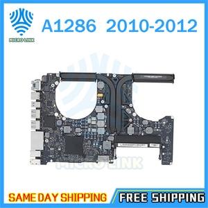 "Image 1 - Ban Đầu A1286 Cho Macbook Pro 15 ""2010 Laptop Logic Ban I7 2.66Ghz 820 2850 A 2011 2.0Ghz 820 2915 B 2012 2.3GHz"
