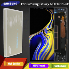 """6.4 """"מקורי סופר AMOLED Note9 LCD תצוגה עבור Samsung Galaxy הערה 9 N960D N960F LCD מסך מגע החלפת חלקים + מסגרת"""