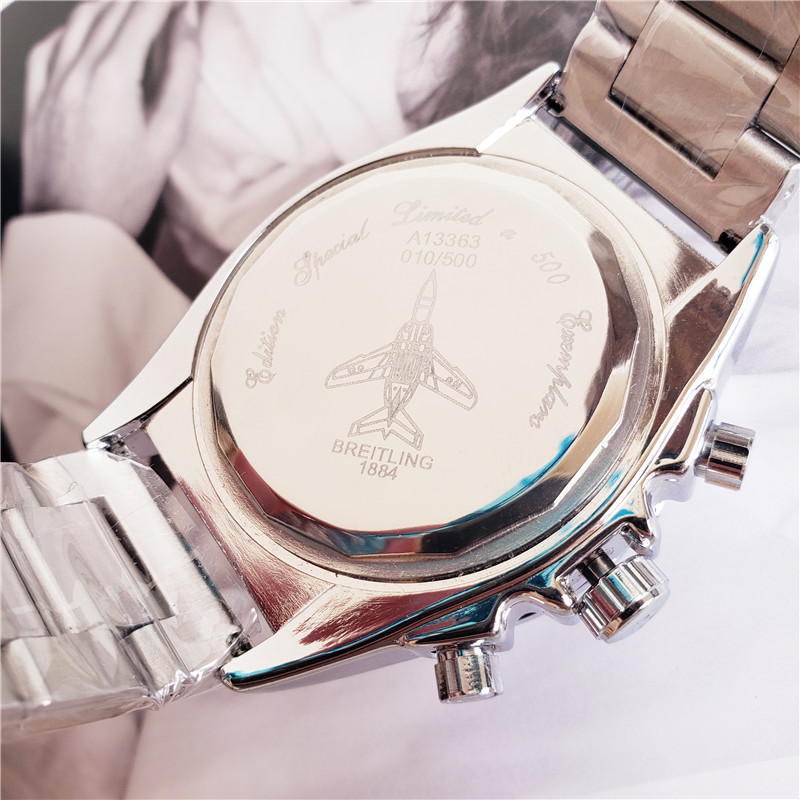 pulso mecânico dos homens relógios quartzo com