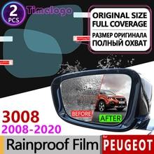 For Peugeot 3008 2008-2020 mk1 mk2 3008GT GT Full Cover Anti Fog Film Rearview Mirror Rainproof Accessories 2013 2015 2017 2018 for peugeot 3008 2008 2020 mk1 mk2 3008gt gt full cover anti fog film rearview mirror rainproof accessories 2013 2015 2017 2018