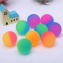 10 шт. Случайный Цвет Пинбол Двухцветный Матовый Мяч Дети 27 лет Открытый Игрушки Предоставить Детский С Бесконечный Часы Из Развлечения