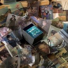 Album d'ombre lumineuse, 366 pièces, en papier, acide sulfurique, déchet Journal planificateur, Scrapbooking, Vintage, décoratif