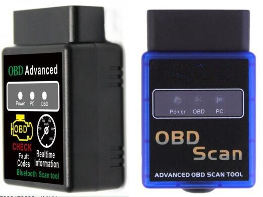 Автомобильный диагностический сканер ELM327, 2 цвета, Bluetooth HH OBD, расширенный OBDII OBD2 ELM 327