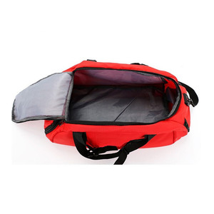 Image 4 - New Men Sport Gym Bag Women Outdoor Gym Fitness Bags Separate Space for Shoes Pouch Rucksack Hide Backpack
