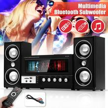 Bluetooth караоке колонки Мультимедиа bluetooth сабвуфер бас колонки музыкальный центр система музыкальный плеер Поддержка FM радио TF Mp3