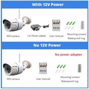 Image 5 - Câmera de vigilância residencial, hd 1080p ip externa wi fi residencial de vigilância 720p 3mp sem fio à prova dágua ip onvif câmera de camara