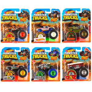 Car-Toy Wheels Monster Barbarism Giant Crazy Children 1:64 Original Metal-Model Birthday-Gift