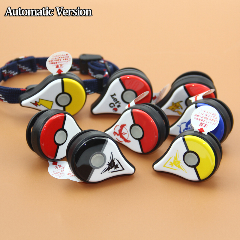For Pokemon Go Plus Bracelet Wristband Bracelet Device For Android And IOS Bluetooth Interactive Figure Toys With Picture Print