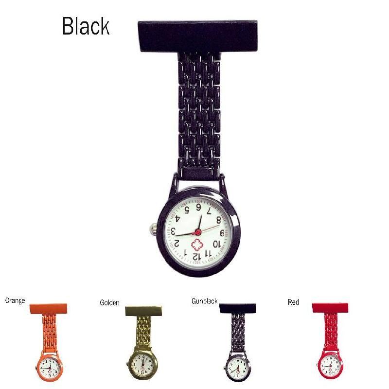 Fashion Nurse Doctor Pocket Watches Quartz Watch Brooch Pocket Brooch Clip Medical Nurse Pocket Nursing Watch With Free Battery