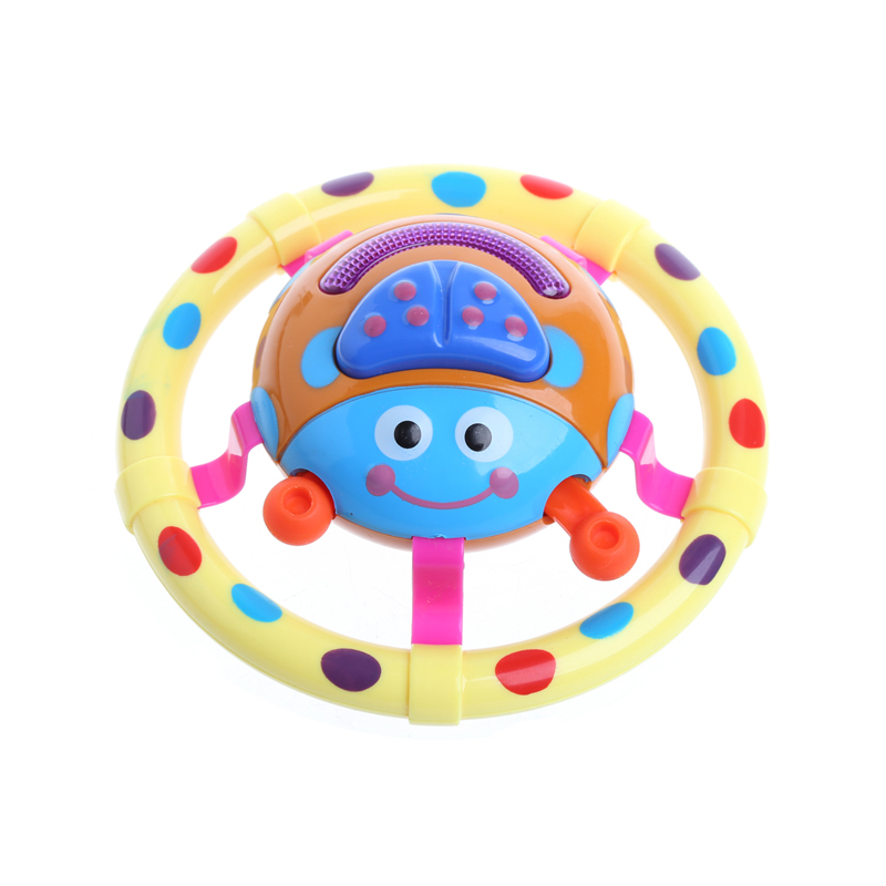 Cute Baby Toys With Sound And Light Ladybug Musical Children Gift For Kids