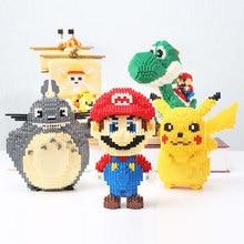 Yoshi Cartoon Character Micro Building Blocks Big Model Size