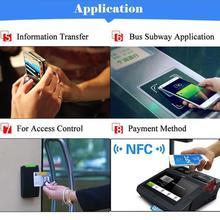 1 шт. RFID ключ жетон патруль сверхлегкий метки 13,56 МГц этикетка бирка наклейка 13 универсальный NFC 213 U5Z6