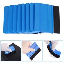 Продажа 10 шт синий скребок фетровые края скребок, автомобильные наклейки виниловое оборачивание для & Оттенок Инструменты для ремонта авто...