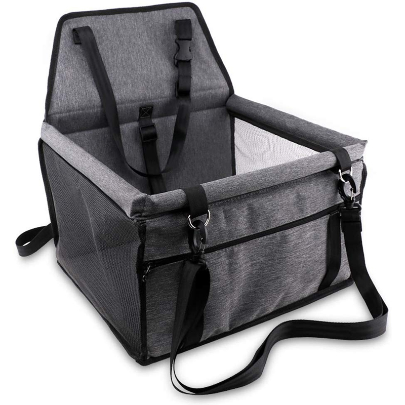 Pet Reinforce Car Cat And Dog Dining Chair Portable And Breathable Bag Belt Safety Belt Dog Strap Safety And Stability For Trave
