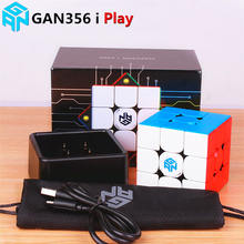 GAN356 ICH Spielen Magnetische Geschwindigkeit Magic Cube Station App Online Wettbewerb GAN 356 ICH Spielen Magneten Puzzle Cubes GAN356i Spielen 3x3 GANS