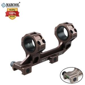 MARCOOL Tactical AK47 AR15 Rifle óptico alcance anillos montaje burbuja 20mm Picatinny Rail
