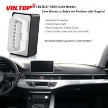 цена на Super Car Diagnostic Mini Elm327 Bluetooth Automotive Scanner OBD2 V1.5 Elm 327 V 1.5 OBD 2 Scanner Elm-327 OBDII Adapter Tool