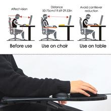 Creative Desk and Chair Computer Hand Arm Bracket Wrist Guard Mouse Pad Gamer for Office Computer Game Player