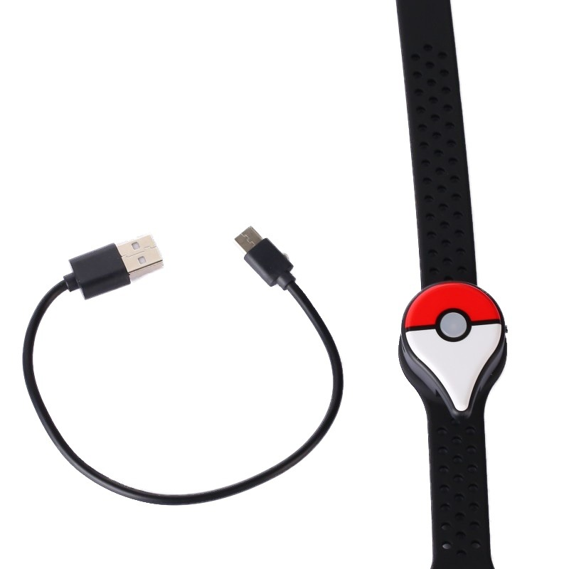 Bracelet Toys Auto Catch Bluetooth Bracelet For Pokemon GO Plus With Rechargeable Battery Inside Can Switch