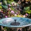 Solar Powered Fountain Water Suction Cups for Home Courtyard Garden Pool Pond Birds Baths Water Pump Solar Fountain Decor