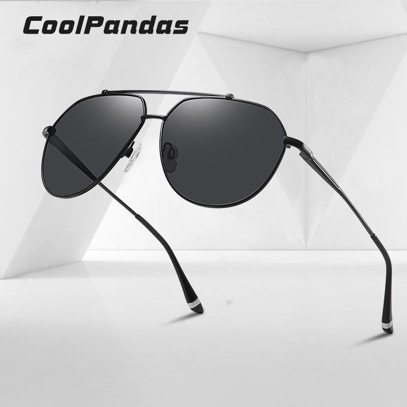 Мужские и женские солнцезащитные очки coolpandas pilot поляризационные