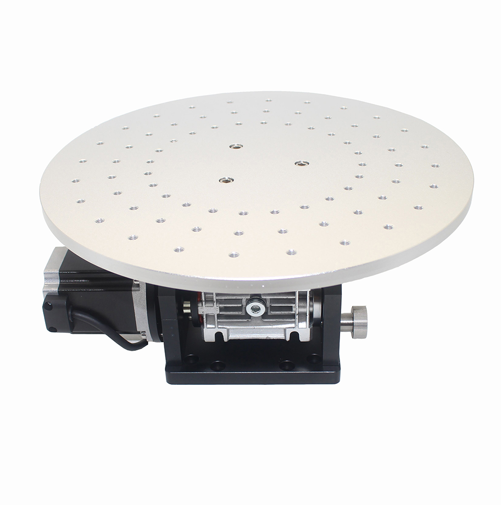 HY-E300 300MM Electric 360 Degree Rotary Workbench Rotating Platform For Marking Machine Engraving Machine Y