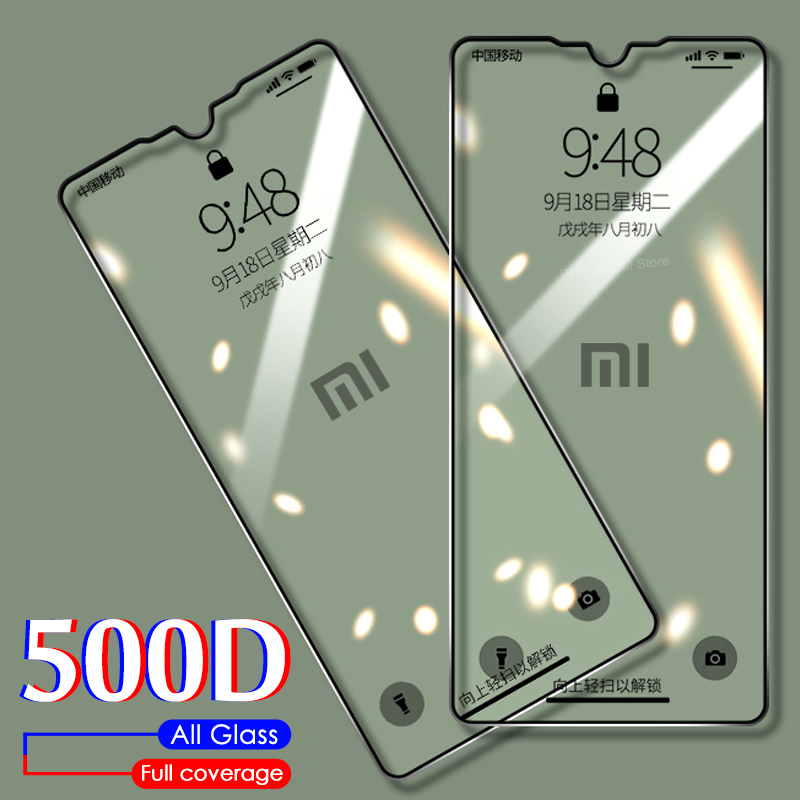 Protective Glass For Xiaomi Redmi 7 7A 8 8A Screen Protector Film On For Redmi Note 7 8 8T K20 Pro K30 Full Cover Tempered Glass