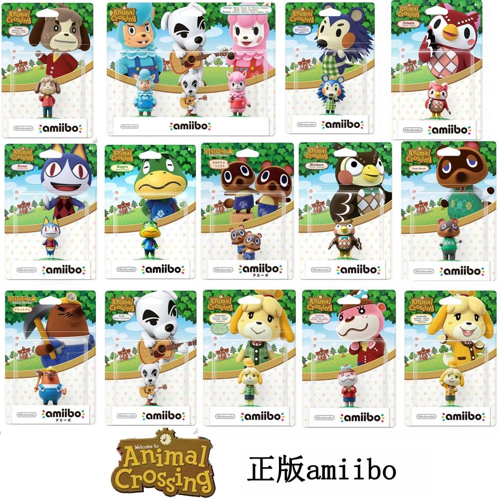Фигурка Nintendo Amiibo, серия «перекрещивание животных», «Изабель селест»