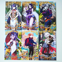 39pcs/set Fate/Grand Order FGO Toys Hobbies Hobby Collectibles Game Collection Anime Cards