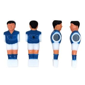 Jugador de fútbol en casa mesa de fútbol Mini equipo de deportes juguete interactivo juego de chico accesorios de fútbol hombre mesa de juego Escritorio