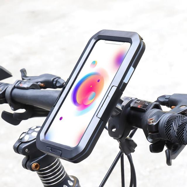 Funda impermeable de buceo para iPhone, funda resistente al agua para iPhone 11 Pro Max X XS Max XR 7 8 6 6S Plus 5 SE, soporte deportivo para bicicleta