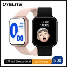 Smart-Watch Inpods13 IWO12 Call-T500 Monitor Earphones Bluetooth UTELITE with TWS 10-1.75''