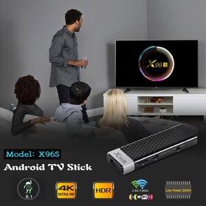 Image 3 - TV Stick Android 9.0 TV Box X96S TV Stick Amlogic S905Y2 DDR4 4GB 32GB X96 Mini PC 5G WiFi H.265 Bluetooth 4.2 TV Media Player