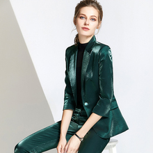 High Quality Formal Professional OL Pant Suits For Women,New Womens Sui