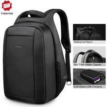 Tigernu брызгозащитные Анти Вор мужские рюкзаки 15.6 дюймов ноутбук ноутбук рюкзак USB для подростков женщин мужской рюкзак