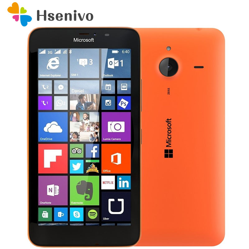 Original Nokia Microsoft Lumia 640/640XL Quad-core 8GB ROM 1GB RAM Unlocked Mobile Phone 4G WIFI GPS 13MP Cell Phone Free ship image