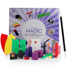 цены Children Magical Props Set Kids Toy Professional Magicians Magic Tricks Toys Gift Simple Educational Toy For Magic Beginner