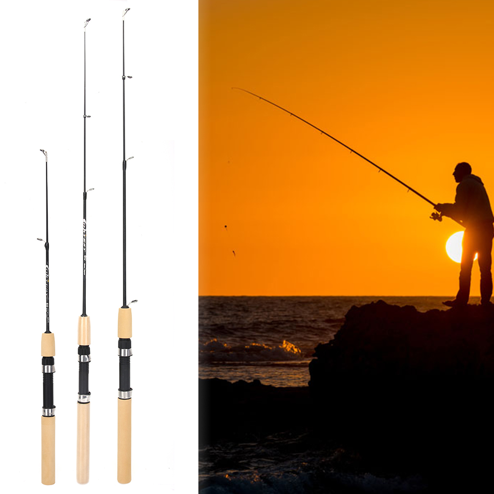 56cm 2 intervals Fishing rod tips Solid and hollow carbon long rod Accessories