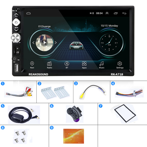 Image 5 - Podofo 2 Din Car Radio Android Universal GPS Navigation Bluetooth Touch Screen Wifi Audio Stereo FM Car Multimedia MP5 Player
