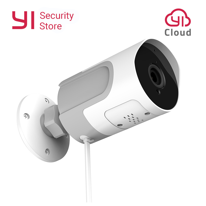 YI LoT 1080P Outdoor Camera Weatherproof Wireless IP Cam Night Vision Security Surveillance Camera YI Cloud Available EU