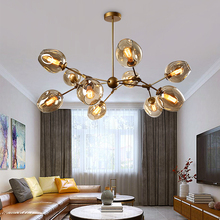 Nordic Simple Chandelier Modern Home Decoration Dinning Room Hanging Lamps,Restaurant Lighting Creative Living Chandeliers