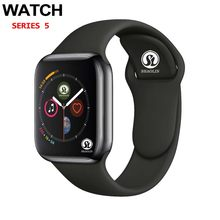 50% de desconto bluetooth smartwatch série 4 42mm, smartwatch para apple watch iphone 6 7 8 x samsung sony smartwatch com android, telefone, relógio inteligente(China)