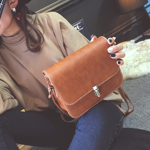 Small Square Fashion Retro Shoulder Bags For Women