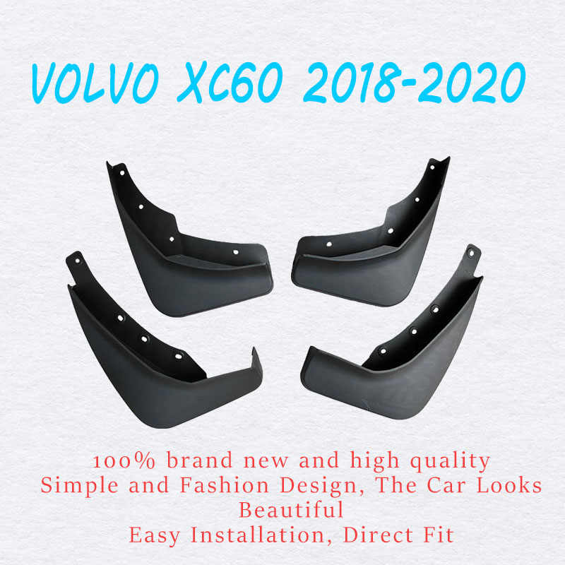Mud flaps For 2018-2020 VOLVO XC60 mudguards fender xc60 Mudflaps splash Guard Fenders Mudguard car acessories  Front Rear 4 Pcs