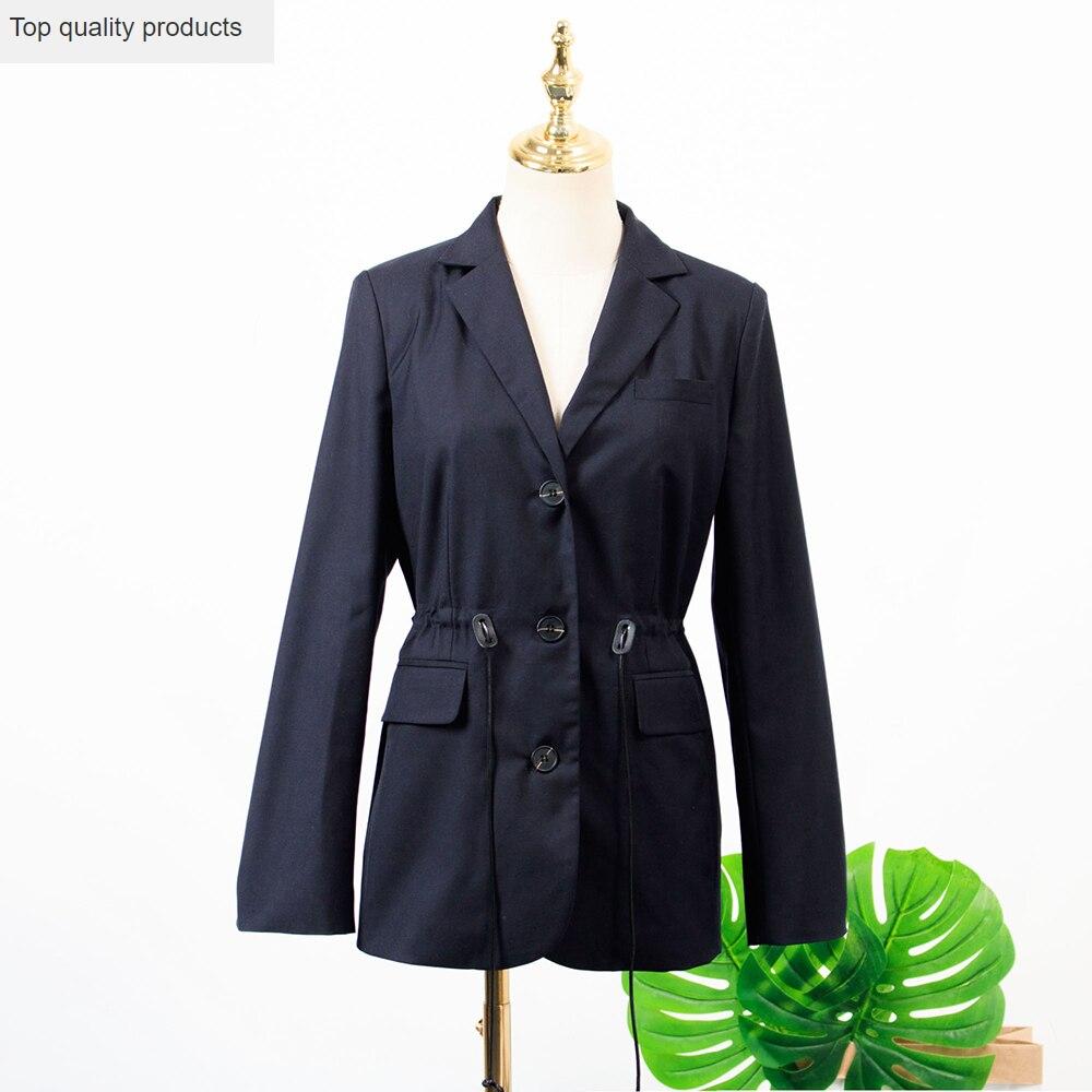 New 2020 Spring Autumn Women's Blazers Long Sleeve Suit Jacket Coat Female Blazers Office Ladies Blazer Feminino Outwear L529