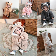 Baby Clothing Boy Girls Clothes Cotton Newborn Toddler Rompers Cute Infant New Born Winter Clothing Rompers Kids Costume