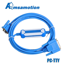 Cabo amsamotion 6es5 734 1bd20 para a série de siemens s5 cabo de programação do plc PC TTY cabo de comunicação do pc tty rs232 para s5